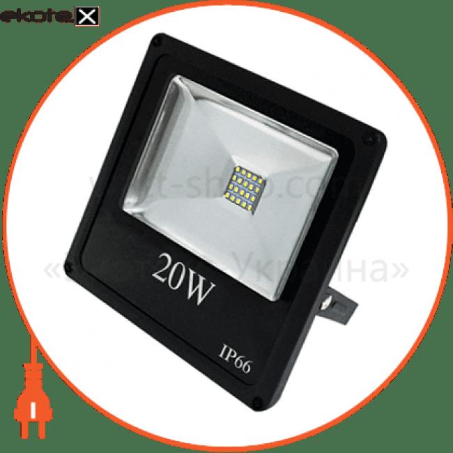прожектор светодиодный solo sl-20-17 20w 6500к  26-0005 светодиодные светильники electrum ELM 26-0005