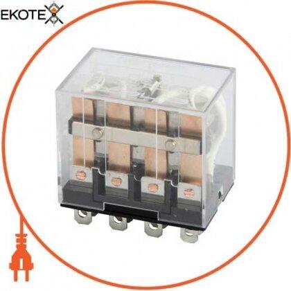 Enext i.ly4.110ac реле промежуточное e.control.p1045 10а, 4 группы контактов, катушка 110в ас