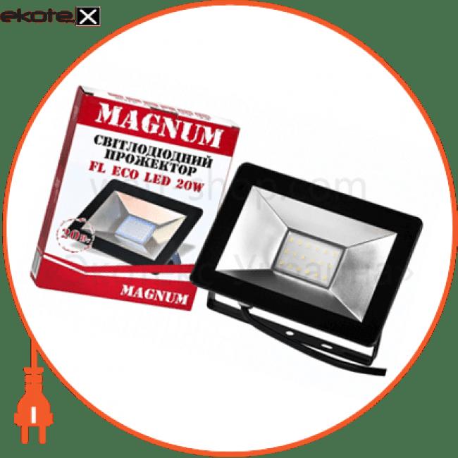 fl eco led 20вт_6500к_ip65 светодиодные лампы magnum Magnum 90008792