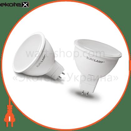 """eurolamp led лампа еко серія """"d"""" mr16 5w gu5.3 3000k 12v (50) светодиодные лампы eurolamp Eurolamp LED-SMD-05533(12)(D)"""