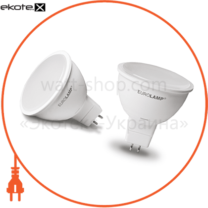 eurolamp led лампа еко mr16 5w 12v gu5.3 4000k светодиодные лампы eurolamp Eurolamp LED-SMD-05534(12)(D)