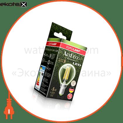 eurolamp led filament глоб g45 artdeco 4w e27 2700k светодиодные лампы eurolamp Eurolamp LED-G45-04272(deco)