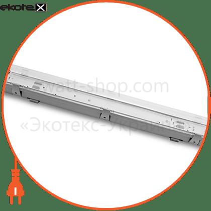 eurolamp led светильник для ламп led t8x2 (0.6m) светодиодные светильники eurolamp Eurolamp LH2-LED-T8(0.6)