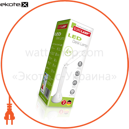 eurolamp led светильник настольный smart 4w 4000k белый светодиодные светильники eurolamp Eurolamp LED-TL-4W(white)