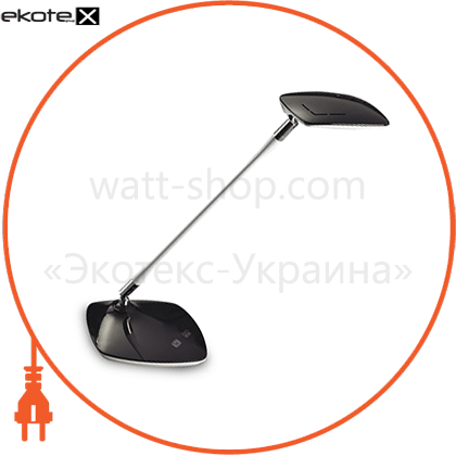 eurolamp led світильник настільний в класичному стилі 5w 4000k чорний светодиодные светильники eurolamp Eurolamp LED-DEL18(black)
