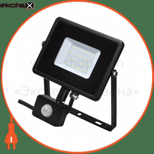 світлодіодний прожектор delux fmi 10 s led 30вт 6500k ip44 с датч. руху светодиодные светильники delux Delux 90008737