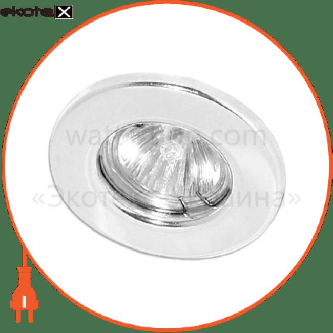 15109 Feron декоративные светильники dl 10 белый под mr-16 неповоротный