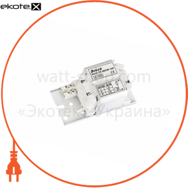 10008207 Delux балласты баласт електромагнітний mbm-400w ртуть-металогалоген