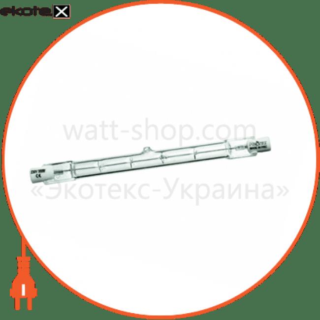 галогенна лампа delux j-type 118mm 150вт прозора