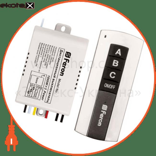 23345 Feron дистанционные выключатели tm76 дистанционный выключатель 3 channel 1000w 30m