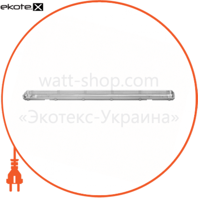90008939 Delux светодиодные светильники delux світильник світлодіодний промисловий delux pc 7 led (2*1200мм) ip65 g13 без ламп