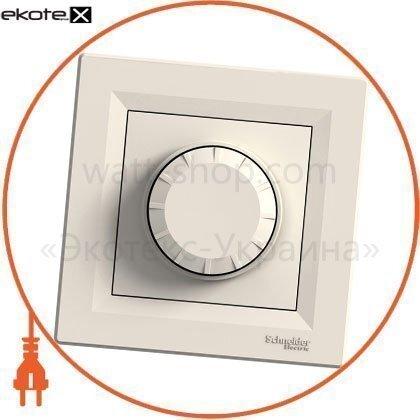 Asfora Светорегулятор поворотный двунаправленный - RL, 40-600VA кремовый
