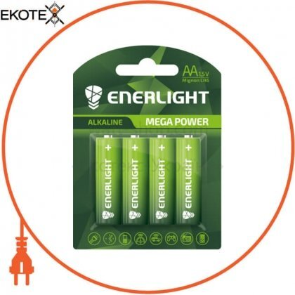 Enerlight 90060104 батарейка enerlight mega power aa bli 4