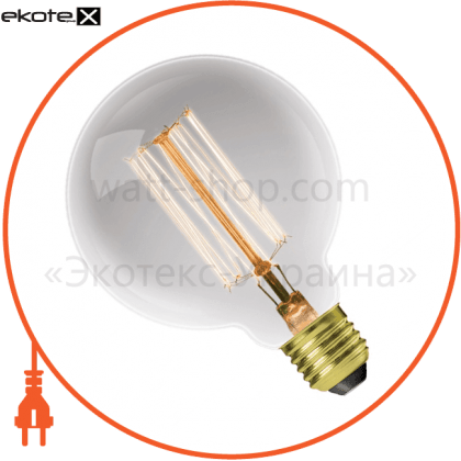 eurolamp лон глоб artdeco g95 60w e27 2700k dimmable