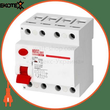 Horoz Electric 114-003-4080 дифференциальный автоматический выключатель 4р 80а 30ma 230v