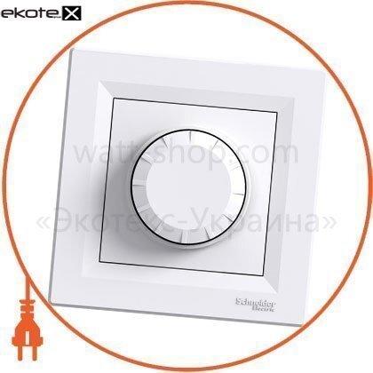 Schneider EPH6500121 asfora светорегулятор поворотный двунаправленный - rl, 40-600va белый