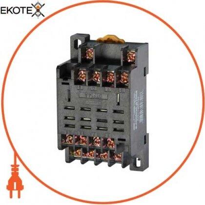 Enext i.ptf.14a разъем модульный e.control.p104s для промежуточного реле 10а на 4 группы контактов