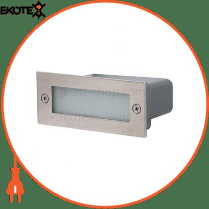 Horoz Electric 079-021-0002-010 светильник лестничный led 1,2w 75lm 220-240v 45 * 110мм.мат.хром белое св.
