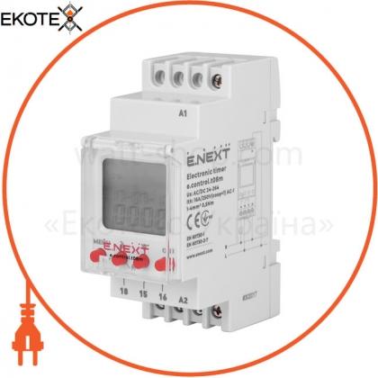 Enext i0310034 таймер электронный e.control.t08m