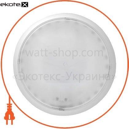 """Ecostrum 71701 светильник настенно-потолочный """"эклектика"""" е-007 (бел.опал)"""