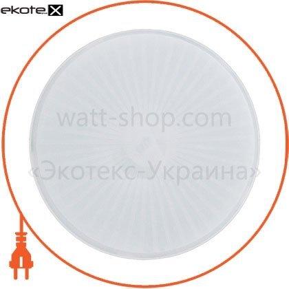 Ecostrum 71775 светильник круг нпп-60 (01) (бел.опал)