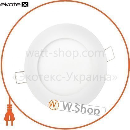 Евросвет 39178 светильник точечный врезной евросвет 9вт круг led-r-150-9 4200к