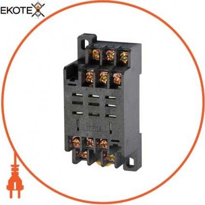 Enext i.ptf.11a разъем модульный e.control.p103s для промежуточного реле 10а на 3 группы контактов