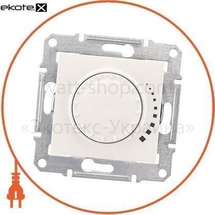 Schneider SDN2200723 sedna светорегулятор двунаправленный поворотно-нажимной, без рамки 325va кремовый