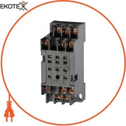 Enext i.pif.11a разъем модульный e.control.p53s для промежуточного реле 5а на 3 группы контактов