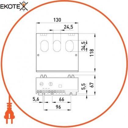 Enext p0690002 реле защиты двигателя e.control.m02, 40-200а