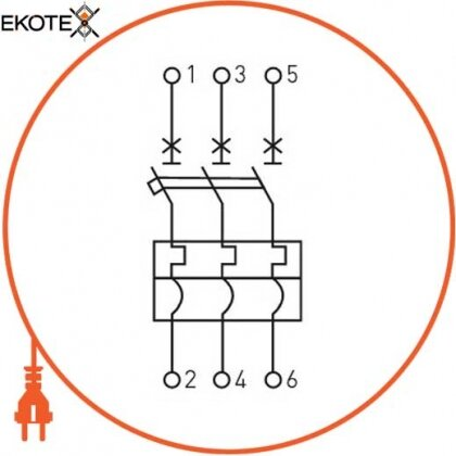 Enext i0660011 силовой автоматический выключатель e.industrial.ukm.100sl.40, 3р, 40а