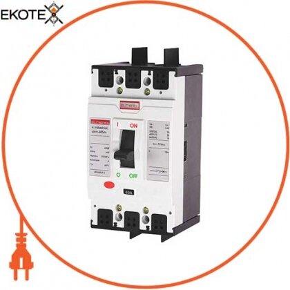 Enext i0650004 силовой автоматический выключатель e.industrial.ukm.60sm.32, 3р, 32а