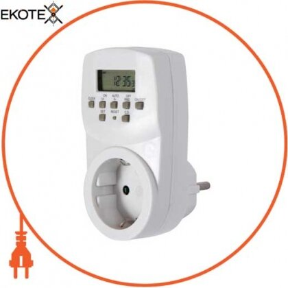 Enext i0310020 реле времени электронное розеточное e.control.t13