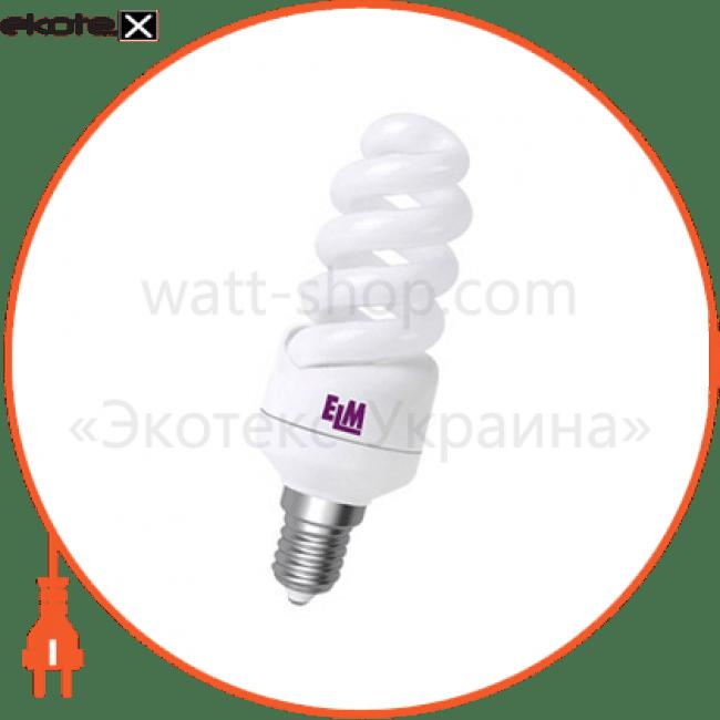 лампа энергосберегающая es-12 11w 2700k e14  17-0031 энергосберегающие лампы electrum ELM 17-0031