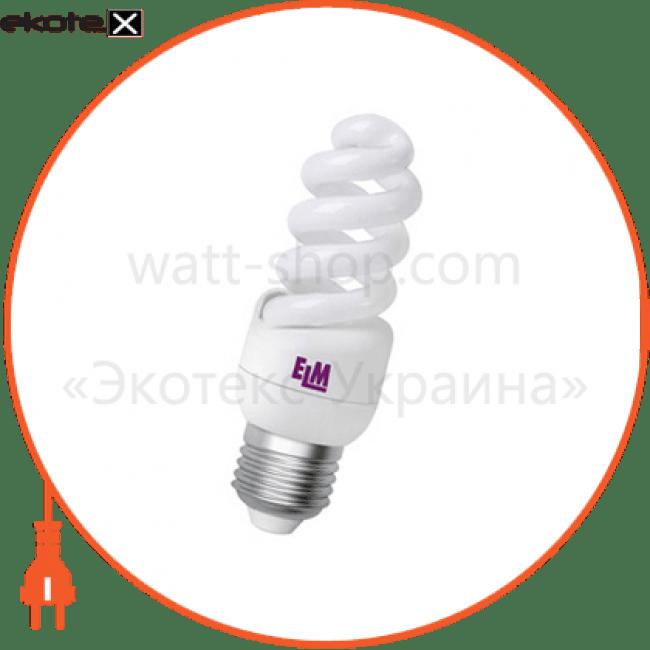 лампа энергосберегающая es-12 11w 2700k e27  17-0033 энергосберегающие лампы electrum ELM 17-0033