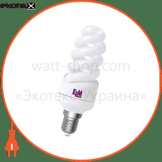 лампа энергосберегающая es-12 11w 4000k e14  17-0032 энергосберегающие лампы electrum ELM