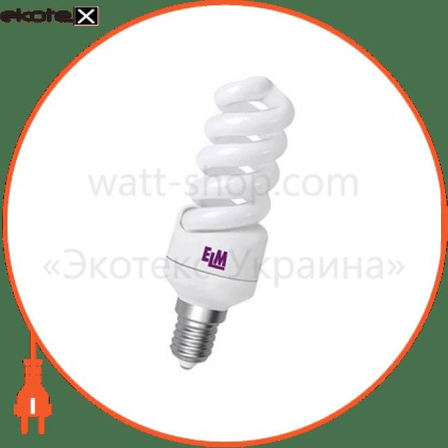 лампа энергосберегающая es-12 15w 4000k e14  17-0084 энергосберегающие лампы electrum ELM 17-0084