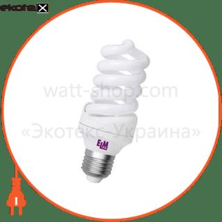 лампа энергосберегающая es-12 20w 4000k e27  17-0044 энергосберегающие лампы electrum ELM 17-0044