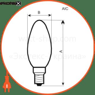 лампа свеча 60w e14  - a-ic-0015 лампы накаливания electrum Electrum A-IC-0015