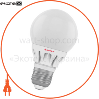 лампа светодиодная глоб d60 lg-8 6w e27 4000k алюминиевый корп.  a-lg-0557 светодиодные лампы electrum Electrum A-LG-0557