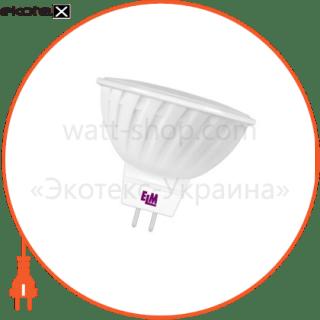 лампа светодиодная mr-16 p-31 3w gu5,3 4000k пласт. корп. 18-0010 светодиодные лампы electrum ELM 18-0010