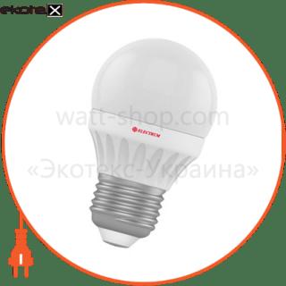 лампа светодиодная шар lb-10 4w e27 4000k алюмопласт. корп. a-lb-0524 светодиодные лампы electrum Electrum A-LB-0524
