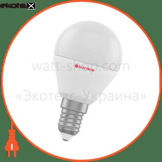 лампа светодиодная шар lb-12 6w e14 4000k алюмопласт. корп. a-lb-0749 светодиодные лампы electrum Electrum A-LB-0749