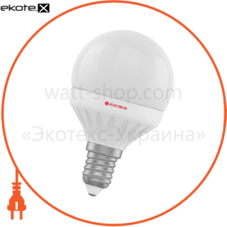 лампа светодиодная шар lb-12 7w e14 4000k алюмопласт. корп. a-lb-0436 светодиодные лампы electrum Electrum A-LB-0436