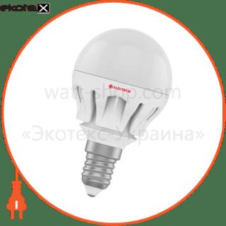 лампа светодиодная шар lb-14 7w e14 2700k алюм. корп. a-lb-0487 светодиодные лампы electrum Electrum A-LB-0487