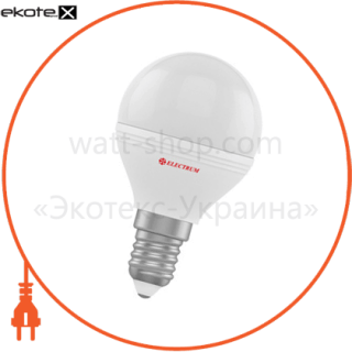 лампа светодиодная шар lb-32 6w e14 3000k алюмопласт. корп. a-lb-1405 светодиодные лампы electrum Electrum A-LB-1405