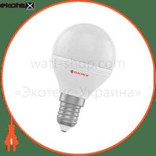 лампа светодиодная шар lb-32 6w e14 4000k алюмопласт. корп. a-lb-1406 светодиодные лампы electrum Electrum A-LB-1406