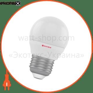 лампа светодиодная шар lb-4 4w e27 4000k алюмопласт. корп. a-lb-0515 светодиодные лампы electrum Electrum A-LB-0515