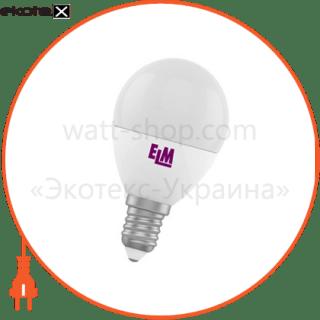 лампа светодиодная шар pa11 6w e14 4000k алюмопласт. корп. 18-0032 светодиодные лампы electrum ELM 18-0032