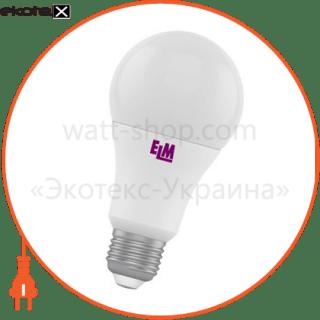 лампа светодиодная стандартная b60 pa-10 10w e27 4000k алюмопл. корп. 18-0007 светодиодные лампы electrum ELM 18-0007